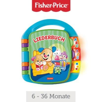 Fisher-Price Lernspass Liederbuch Lernspielzeug