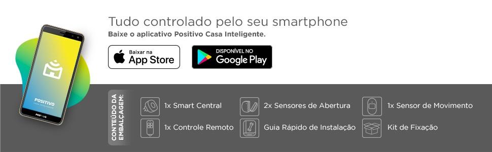 Positivo Casa Inteligente - Controle celular