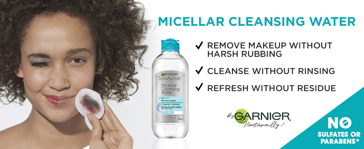 micellar water waterproof makeup remover