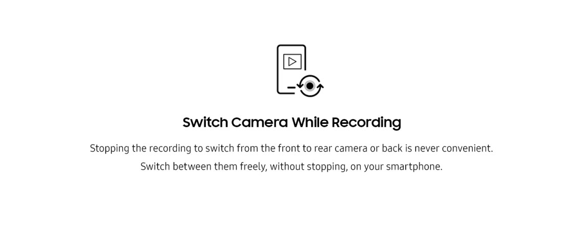 Switch camera