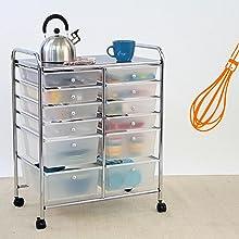 Kitchen Storage Cart