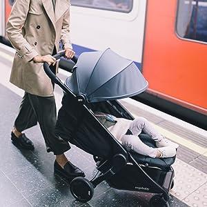 comfortable stroller, zoe stroller, maclaren stroller, uppababy stroller, cruz stroller