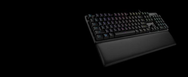 G513 RGB + LIGHTSYNC Mechanical Gaming Keyboard