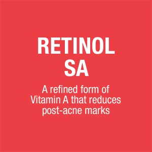 Neutrogena Stubborn Marks PM Facial Treatment contains Retinol SA facial treatment ingredient