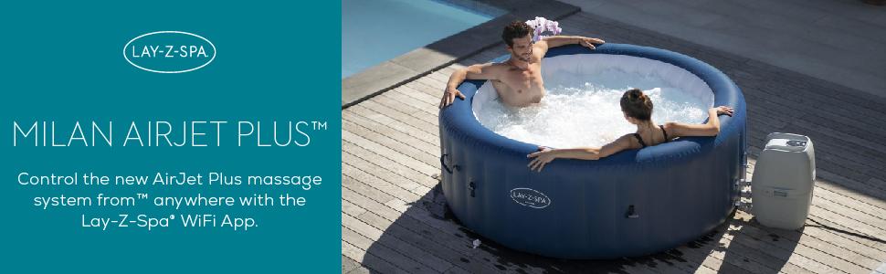 Lay-Z-Spa hot tub Milan