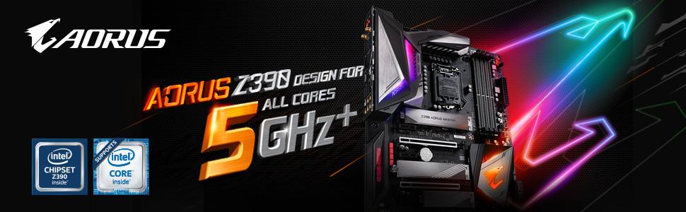 gigabyte, aorus, z390, motherboard, intel
