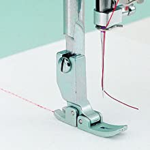 advanced needle threading, needle thread, sewing machine