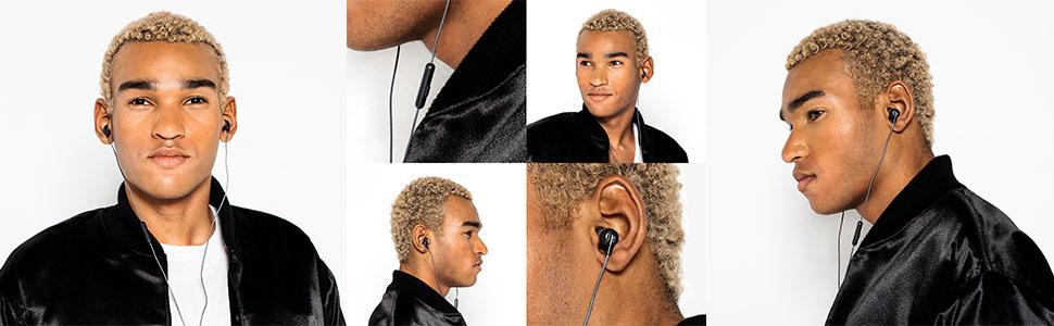 Ink'd+ Earbuds On Model