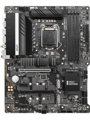 MSI Z590 PRO WIFI Motherboard