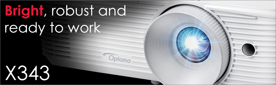 bright robust and ready to work optoma x343
