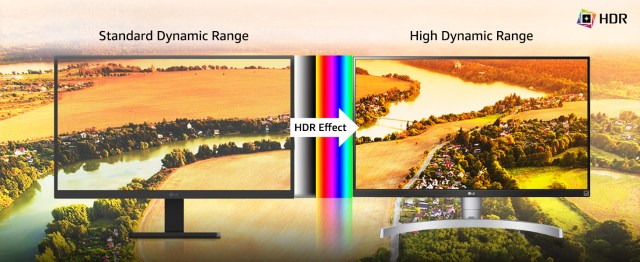 Display with HDR