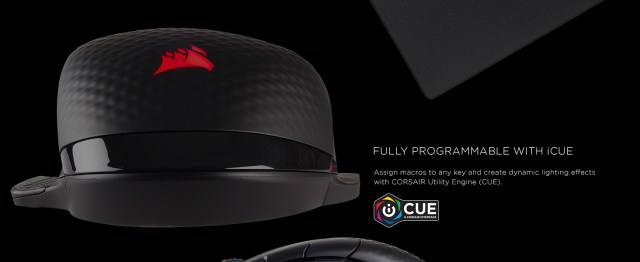 CH-9315211-NA DARK CORE RGB Performance Wired / Wireless Gaming Mouse