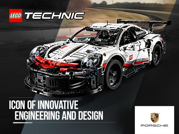 LEGO 42096 Technic Porsche 911 RSR Race Car Advanced Building Set Review