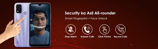 Fingerprint Face Unlock
