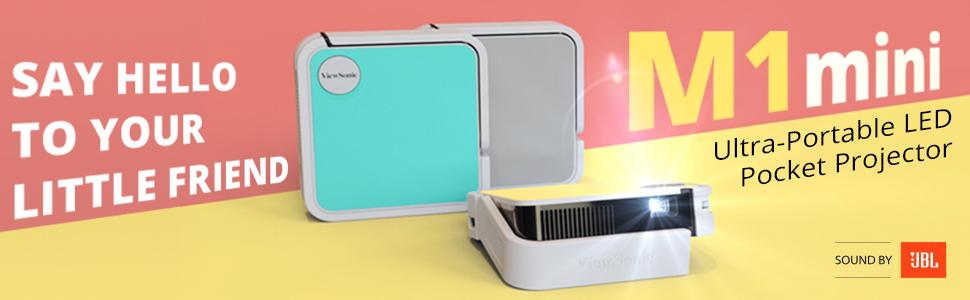 ViewSonic M1 Mini Ultra-Portable LED Pocket Projector