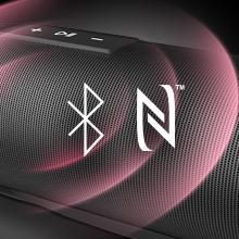Verbindung über NFC und Bluetooth