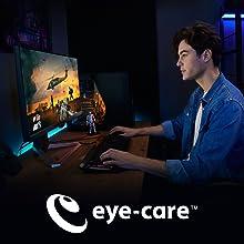 benq mobiuz ex2510 gaming monitor eye care technology