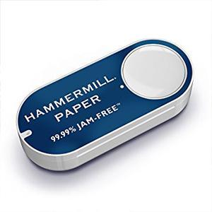 o Amazon dash button, Hammermill, printer paper