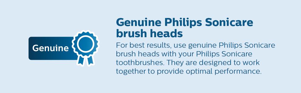 genuine philips sonicare brush heads
