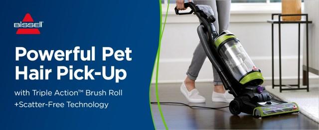 powerful pet hair pick-up