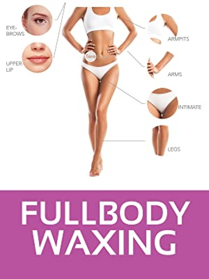 waxing fullbody film wax enthaarung brazilian heißwachsperlen