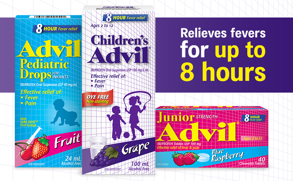 Children's Advil Fever Reducer and Pain Reliever