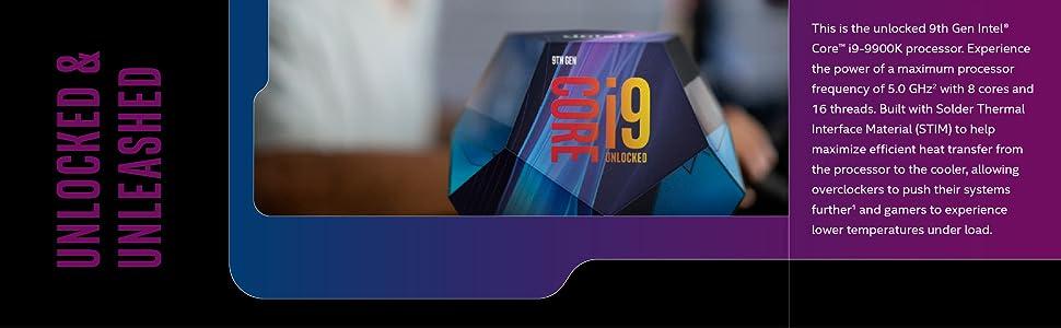 Procesador Intel Core i9-9900K para equipos de sobremesa de 9ª generación
