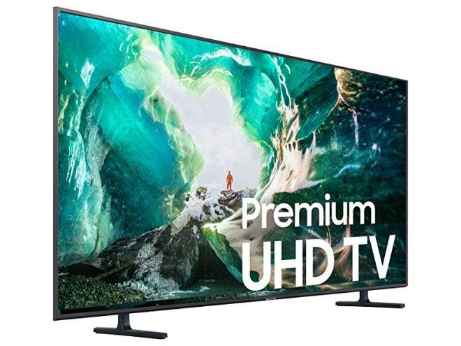 Samsung UN65RU8000FXZA Flat 65'' 4K UHD 8 Series Smart TV (2019)