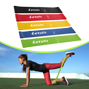 Best letsfit resistance loop bands exercises and Review
