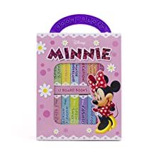 my, first, library, book,block,minnie,mickey,mouse,early,learning,year,old,olds,baby,babies,1,0,2
