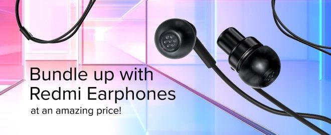 Redmi earphones