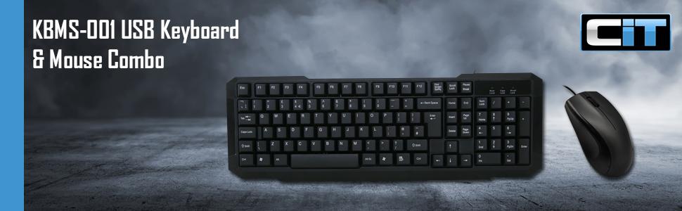 KBMS-001 Keyboard & Mouse Combo