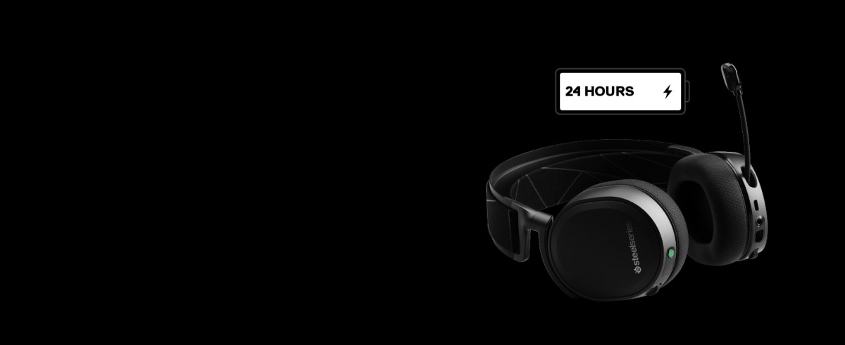- Arctis 7 with 24-hour battery life icon
