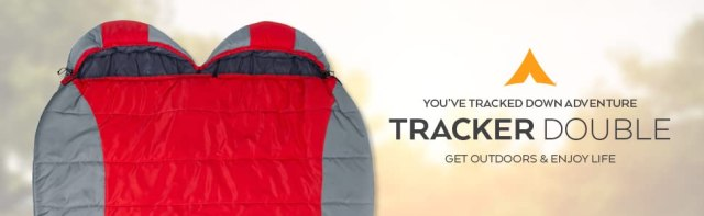 The Tracker Double Ultralight Sleeping Bag