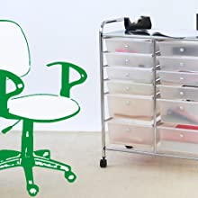 Home Office Storage Cart