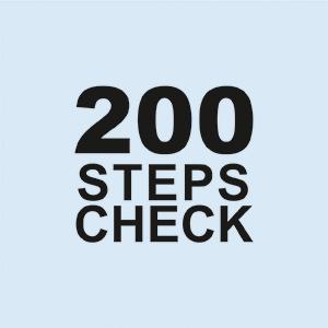 200 step check