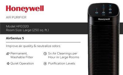 Honeywell AirGenius Air Purifier