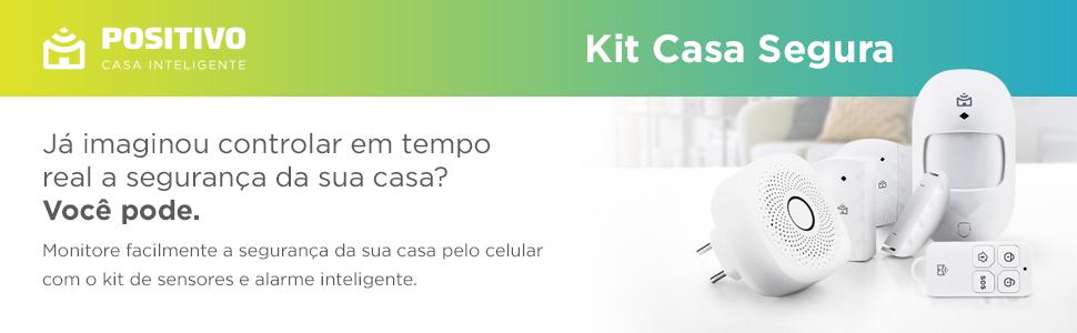 Positivo Casa Inteligente Kit Casa segura IOT