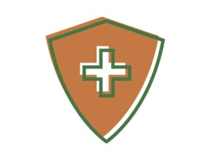 Illustration of a shield to represent immune strength