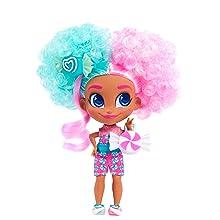 cabeleiráveis, show no youtube, dee dee, padeiro, cozinheiro, cabelo encaracolado, cabelo rosa e verde-azulado, cabelo rosa e azul