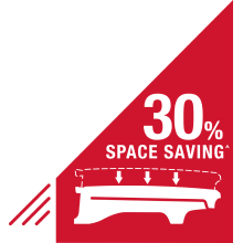 30% Space Saving as a Storage Solution