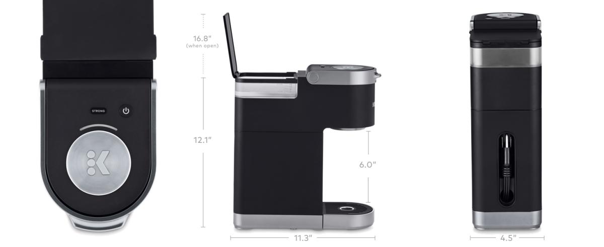 Keurig K-Mini Plus coffee maker, kmini, k15, k10, Mini Keurig, small keurig, coffeemaker, brewer