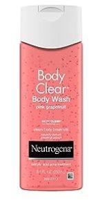 Neutrogena Body Clear Pink Grapefruit Acne Fighting Body Wash with Salicylic Acid