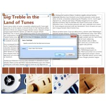 page layout, simple, easy to use, photo editing, DTP, clipart,