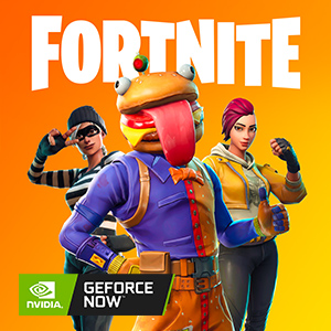 google play, geforce now, fortnite