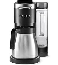 keurig k-duo coffee and carafe maker, drip coffee machine, single serve coffeemaker, keurig brewer
