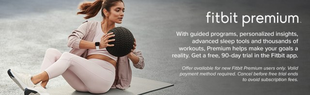 Woman working out with medicine ball