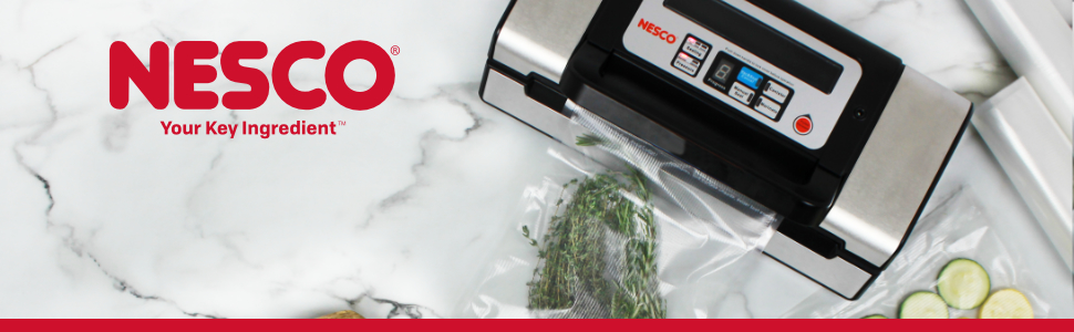 Nesco vs 12 vacuum sealer