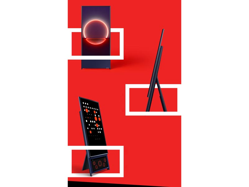 Vertical design, all-in-1 floor stand, and premium 60W speaker