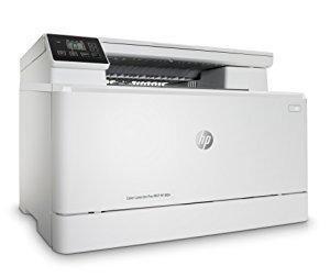 Imprimante Laserjet Pro m180n gauche